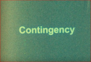 Contingency Title